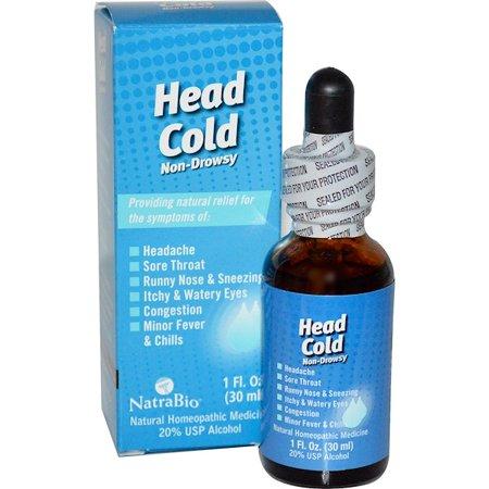 NATRA BIO Head Cold 1 OZ