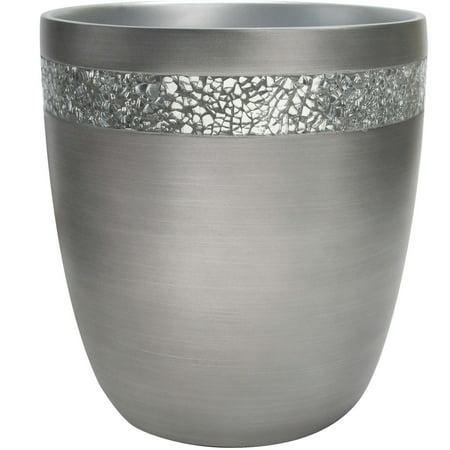 Better Homes & Gardens Glimmer Bathroom Trash Can, 1 Each (Garden Wastebasket)