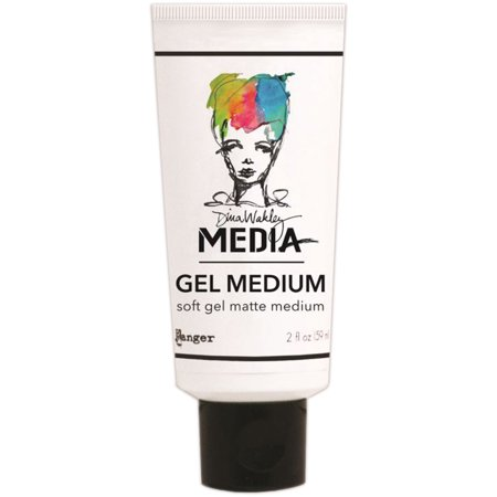 Dina Wakley Media Gel Medium 2Oz Tube Matte Finish