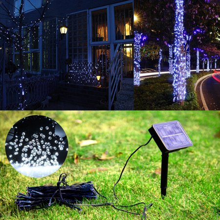 Ktaxon Fairy Solar String Lights, LED Outdoor Waterproof Light for Garden, Patio, Wedding ,Backyard, Party](Backyard Party Lights)