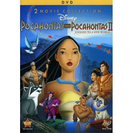 Pocahontas   Pocahontas Ii  Journey To A New World   2 Movie Collection