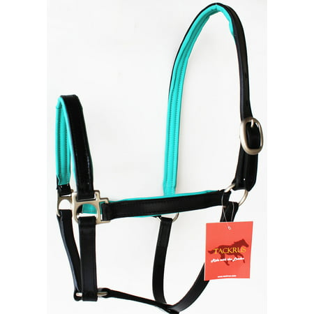 Horse English Padded Leather PONY Western  Show Halter 803209P Pony English Pad