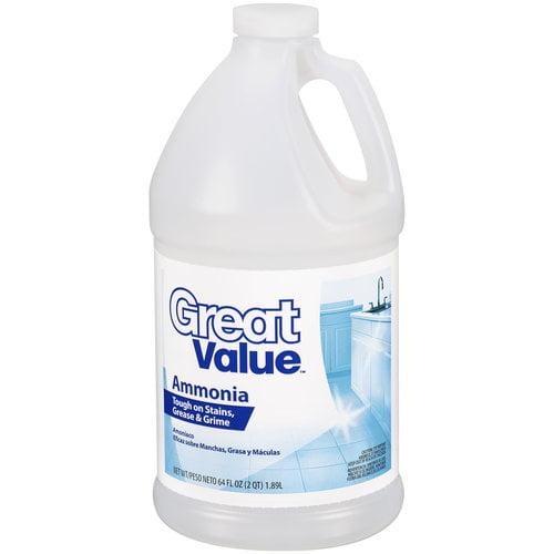 Great Value Ammonia, 64 Oz