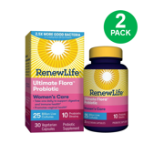 (2 Pack) Renew Life - Ultimate Flora Probiotic Women's Care - 25 billion - 30 vegetable capsules
