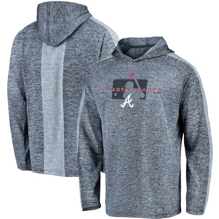 official photos b890c 74a23 Atlanta Braves Majestic Authentic Collection Ultra-Light Cool Base Pullover  Hoodie - Navy