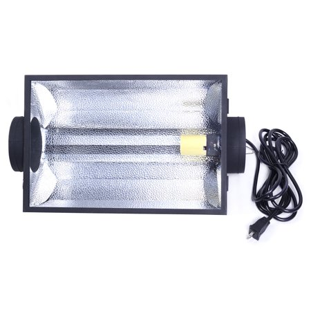 "6"" Air Cooled Hood Reflector Hydroponics Light Grow Hydroponic Glass Cover - image 2 of 9"