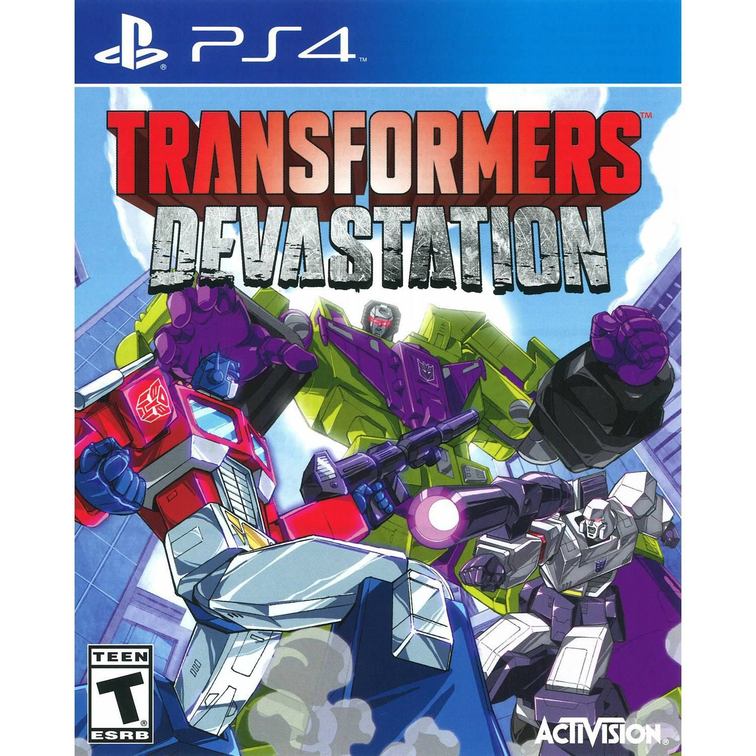 Transformers Devastation (PS4) - Pre-Owned