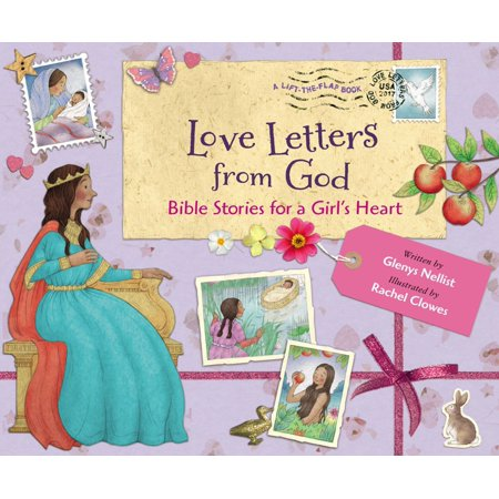Love Letters from God; Bible Stories for a Girl's Heart - (Love Letters For Him From The Heart)