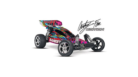 Traxxas 240763T6 1:10 Courtney Force Edition Bandit VXL RTR with TSM by TRAXXAS