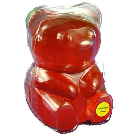 BIG BIG Watermelon Gummy Bear (13oz)](Gummy Bear Warning Halloween)