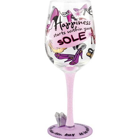 Top Shelf Diva Wine Glass