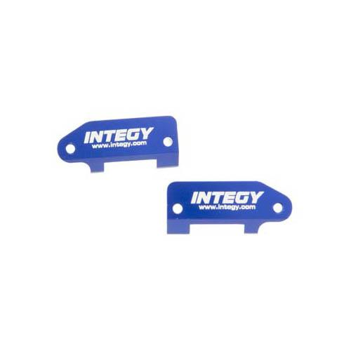 Integy RC Toy Model Hop-ups T7989BLUE Caster Blocks II for Traxxas 1 10 Stampede 2WD,... by Integy