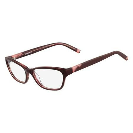 - marchonyc m-monroe eyeglasses 604 burgundy horn