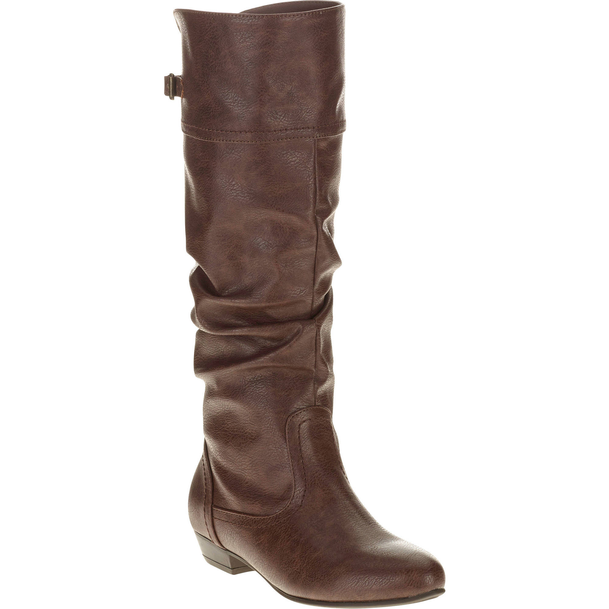 Faded Glory Women's Slouch Tall Boot - Walmart.com