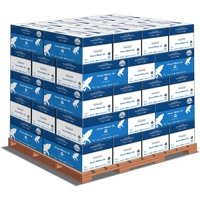 Hammermill Paper, Great White 30% Recycled Printer Paper, 8.5 x 11 Paper, Letter Size, 20lb, 92 Bright - 1 Pallet / 40 Cases (086700P)