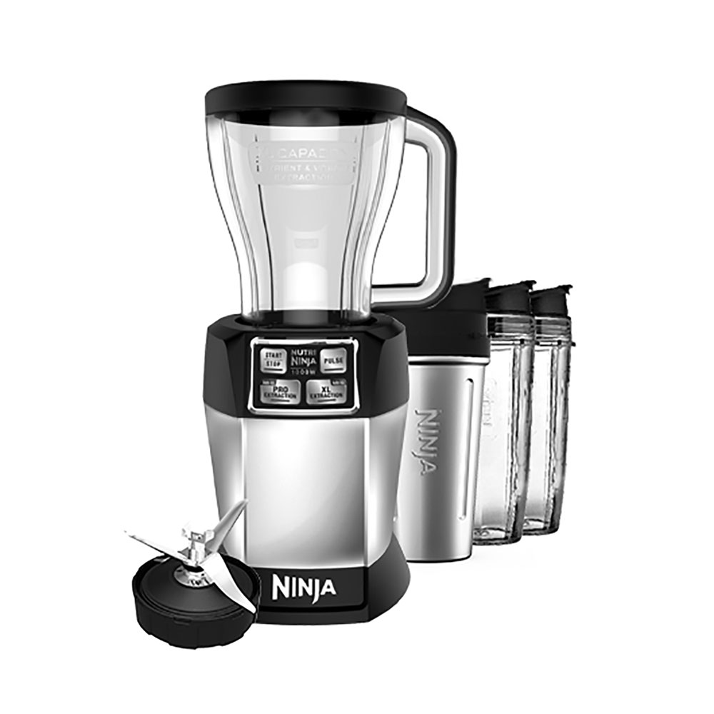 Nutri Ninja Auto iQ Complete Extraction Blender System (Certified Refurbished)