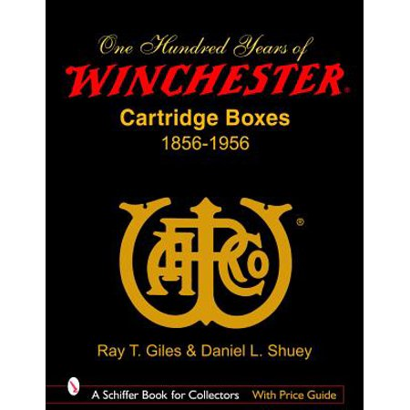 100 Years of Winchester Cartridge Boxes,