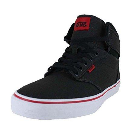 Vans - VANS MENS ATWOOD HI SHOES ROCK TEXTILE BLACK RED SIZE 13 -  Walmart.com cdf42d743