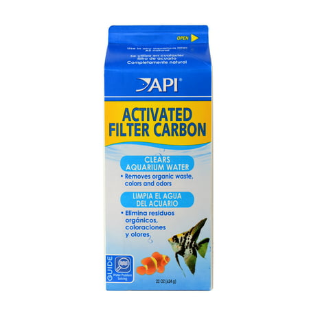 API Activated Filter Carbon, Aquarium Filtration Media, 22 oz