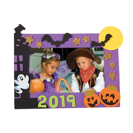 Halloween Ecards Add Photo (DATED HALLOWEEN PICTURE FRAME MAG CK-12 - Craft Kits - 12)