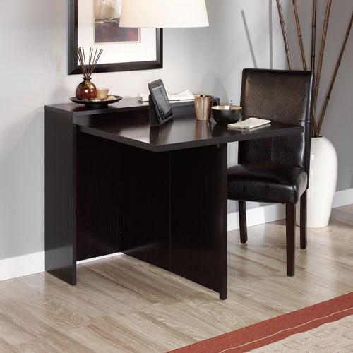 sauder fold-away table, wind oak - walmart