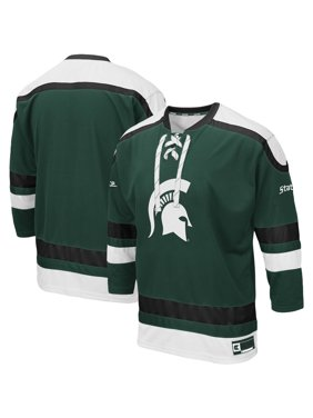 Michigan State Spartans Colosseum Big & Tall Mr. Plow Hockey Jersey Sweater - Green