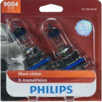 Philips X-Tremevision Headlight 9004, P29T, Clear, Always Change In Pairs!