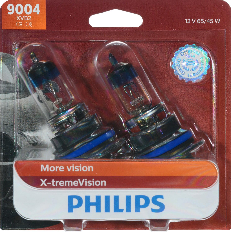 Philips VisionPlus headlight 9004, Pack of 2