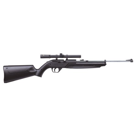 Crosman 760 Pumpmaster with 4x scope (black/silver gun) .177 Cal Air Rifle
