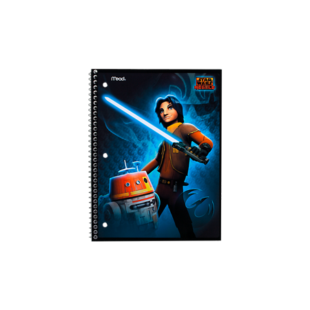 Star Wars Rebels Notebook: 1-Subject, WR, Ezra (Spiral Episodes)
