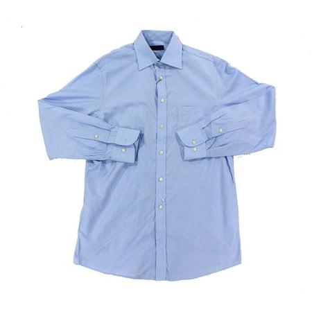 Joseph abboud new blue mens size 15 chest pocket stripe for Joseph abboud dress shirt