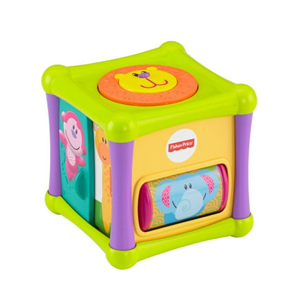 Growing Cubes (Fisher-Price Growing Baby Animal Activity Cube )