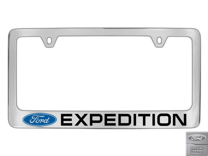 Chevrolet Spark Script Chrome Plated Metal License Plate Frame Holder OEM