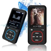 AGPtek MP3 Music Player 2018 Latest Version 8GB 70 Hours Playback Lossless Sound