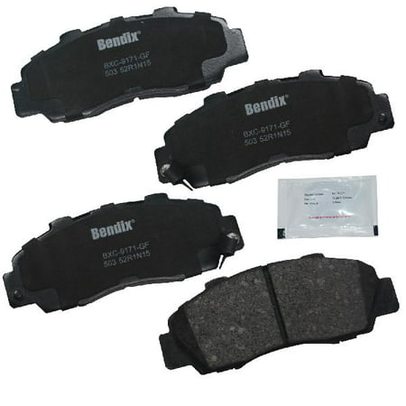 Go-Parts OE Replacement for 1992-1994 Acura Vigor Front Disc Brake Pad Set for Acura Vigor (Type