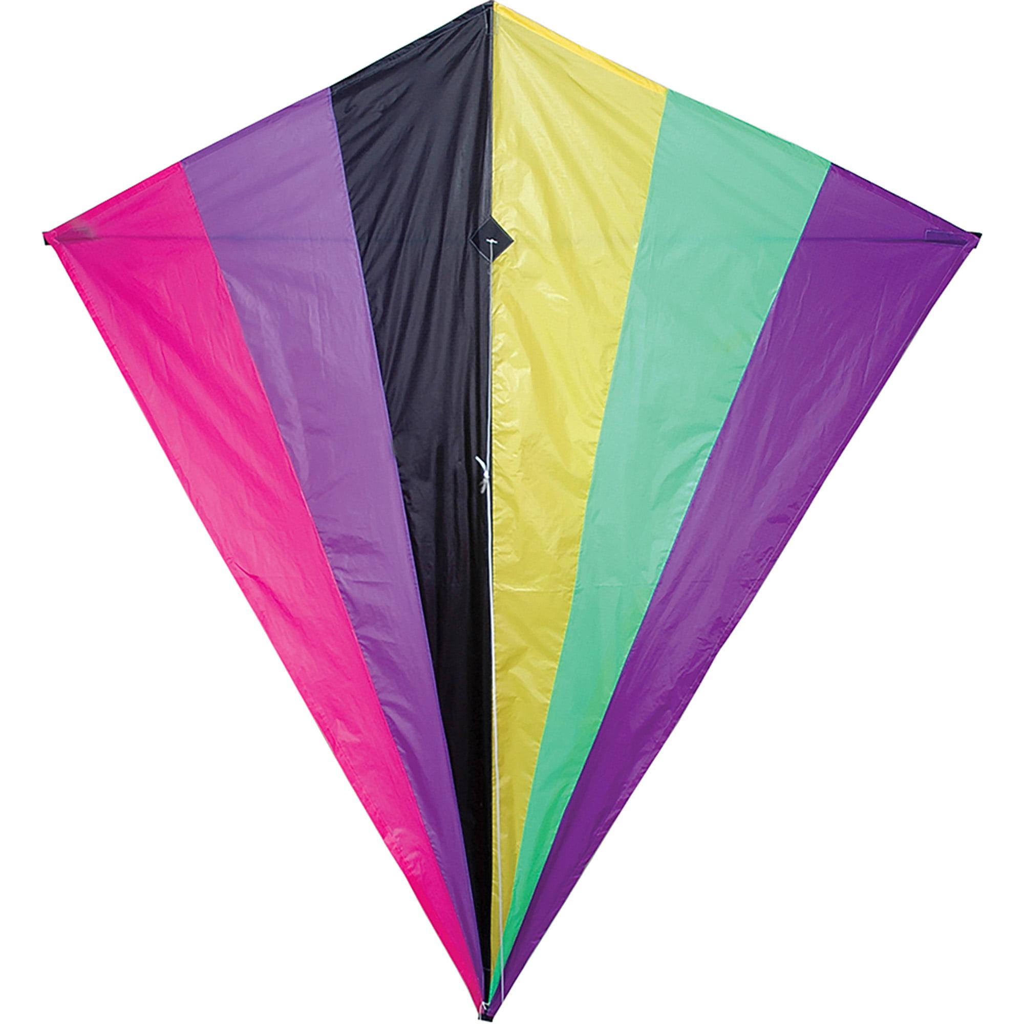 "Premier Designs 65"" Diamond Kite, Neon by Premier Kite"
