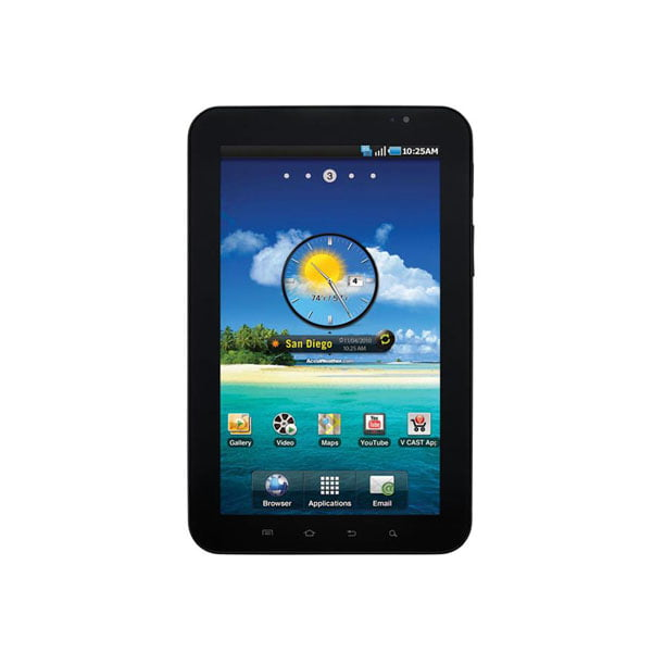 Samsung Galaxy Tab SCH-i800 Replica Dummy Phone / Toy Tablet (Black) (NON-WORKING TABLET)