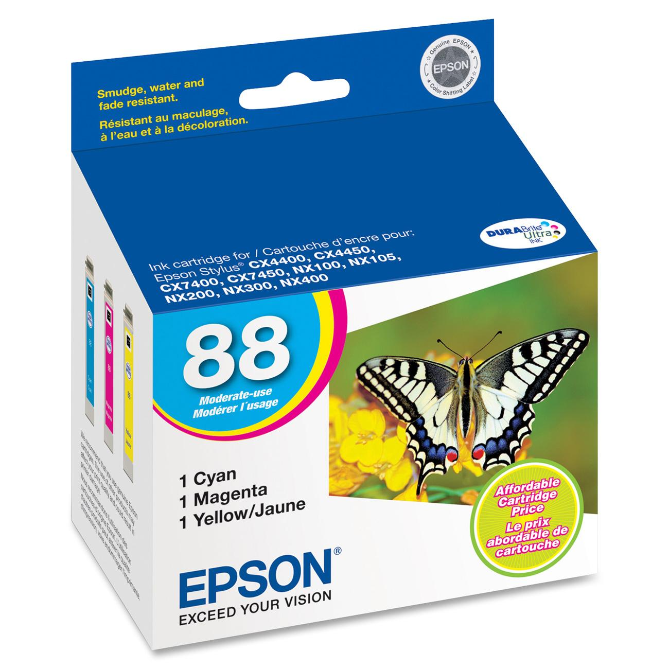 Epson, EPST088520, T088120/220/320/420/520 Ink Cartridges, 1 / Pack