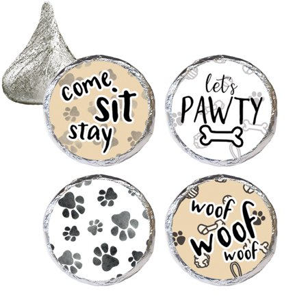 Dog Birthday Party Stickers 324 Count
