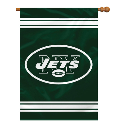 Fremont Die Inc New York Jets 2-Sided House Banner House Banner