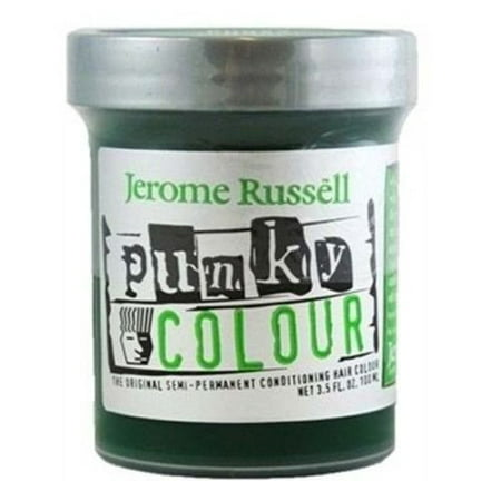 Jerome Russell Punky Hair Colour, Spring Green, 3.5 -