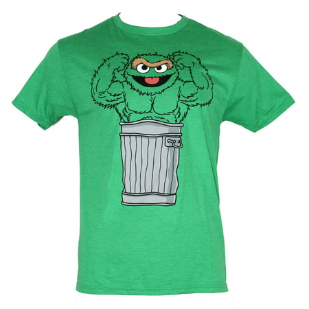 0f2b15a5 IN MY PARENTS BASEMENT - Sesame Street Mens T-Shirt - Muscle Bound ...