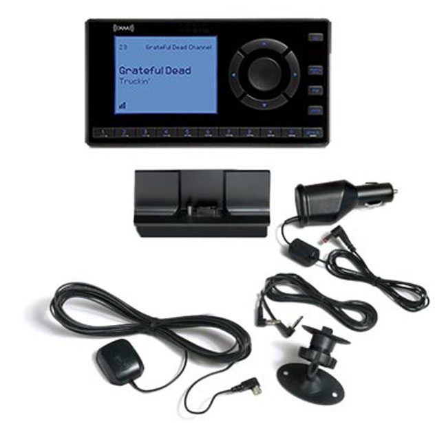 XM-XEZ1V1 Onyx EZ Satellite Radio with Vehicle Kit