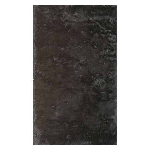Noble House Crystal Area Rug - Black
