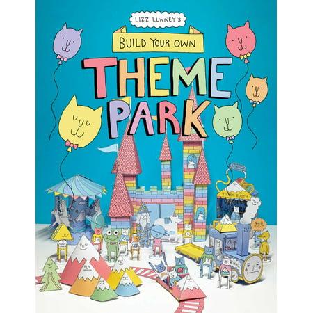 Build Your Own Theme Park : A Paper Cut-Out Book (Build Your Own Theme Park Computer Game)