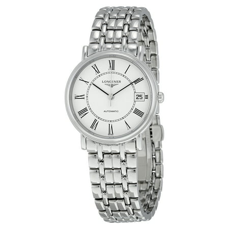 Longines Presence Automatic White Dial Mens Watch L4 821 4 11 6