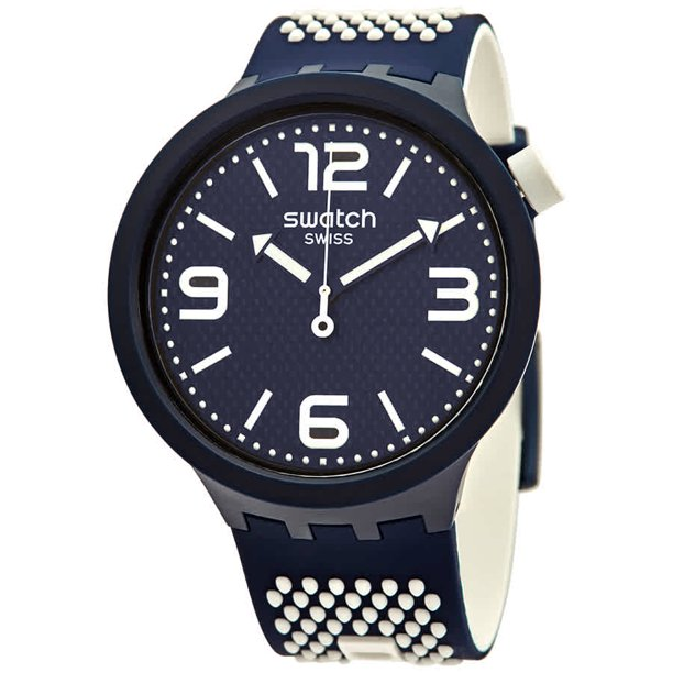 Swatch BBCREAM Quartz Blue Dial Men's Watch SO27N101