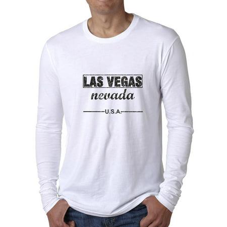 Las Vegas Nevada USA Pride Graphic Men's Long Sleeve T-Shirt](Halloween Contests Las Vegas)
