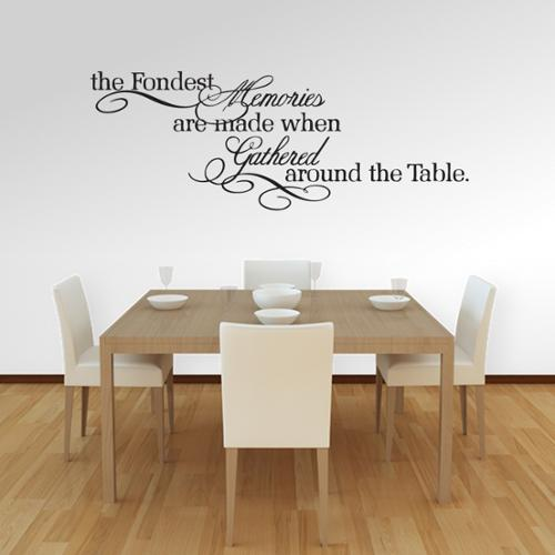 Sweetums The Fondest Memories' 60 x 22-inch Large Wall Decal