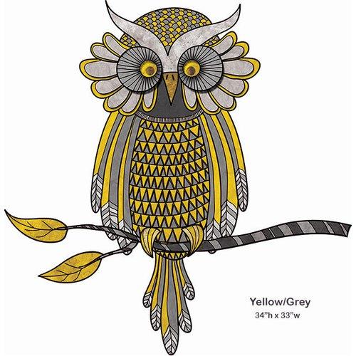 My Wonderful Walls Wise Owl Wall Sticker by My Wonderful Walls